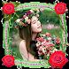 Flower Photo Frame 2018 - Rose Photo Frame 2018