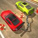 Chained Cars Vs Bollard