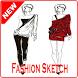 Fashion Sketch women by htcdev