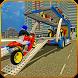 Bike Transport Cargo Truck by Witty Gamerz