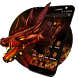 3D Evil Fire Dragon Blood Theme by Elegant Theme