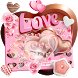 Chocolate Love Keyboard Theme by Joy&Art Fashion