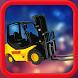 Cargo Forklift Transporter 3D by Pooja Halani