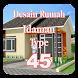 Desain Rumah Idaman Type 45 by Hendri Apps