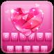 Pink Cute Keyboard Theme by Keyboard Dreamer