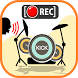 Real drum with voice