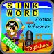 Sink Word Pirate Schooner by FunwithyourPC