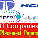 TCS HCL and Top IT Companies Placement Papers