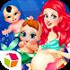 Princess Mermaid New Baby by Lv Bing