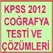 KPSS COĞRAFYA TESTİ ÇÖZÜMLERİ by GİZCENT