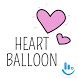 Heart Balloon TouchPal Boomtext - Creat GIF by TouchPal