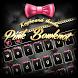 Pink Bowknot Keyboard Theme by Keyboard Dreamer