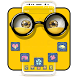 Yellow Friend Cartoon Theme by Best Cool Theme Dreamer