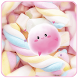 Pink Candy Love by Launcher phone theme