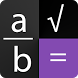 Fraction calculator by thinksimple app