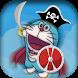 Adventure doramon pirate by app developer game