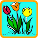 Flowers Coloring Page Perfect by Caruban Nagari Media