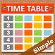 Simple Timetable by Graceful Garden