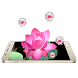 Pink Lotus Theme by Live Wallpapers Studio Theme