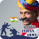 I Support Indian Army Dp - Indian Flag by Globalapps7
