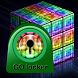 GO Locker Style rainbow cube by Workshop Theme