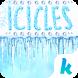 Icicles Kika keyboard by Kika Theme Studio