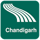 Chandigarh Map offline by iniCall.com