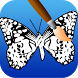 butterfly coloring pages game by NetApps