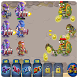 Dead Zombies vs Police by clash calculator games