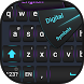 Big letters keyboard by BestSuperThemes