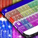 Glitter Crayons Keyboard Theme by Themes World