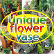 Unique flower Vase by PPstar