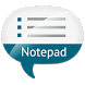 Notepad with voice recognition by townKULT