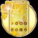 Butterfly Gold Wallpaper Theme