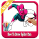 How to Draw : Spiderman *Easy Step* by app4childrens