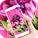 Purple Tulip Bloom Aroma Theme by Free new hot colorful themes