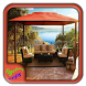 Wooden Garden Canopy by Syclonapps