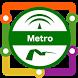 Sevilla Metro Map by Transopolis