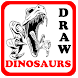 DRAW DINOSAURS by Best Free Application