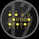 Elegant Binary Watch Face by Martin Halachev