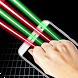Laser Light Hand Simulator