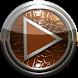 Poweramp skin orange lizard by Maystarwerk Skins & Widgets Vol.2