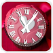 Fluffy Clock Hearts LWP by Swidan Applications