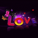 Multicolor Love Live Wallpaper by Daksh Apps