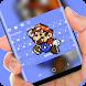 Pixel Mario keyboard by Jubee Theme Studio