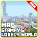 Map Lovely World minecraft pe by SimpleDrawingStudio