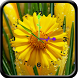Flower Clock 1 by Venkateshwara apps