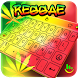 Reggae Cannabis Sativa Keyboard Theme by Love Free Themes