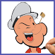 How to draw Popeye The Sailor Man by Draw and enjoy