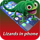 Lizard On Screen by Raja Brothers